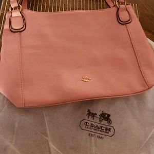 Faux Coach bag and matching wallet